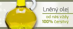 Lněný olej, semínko, výlisky